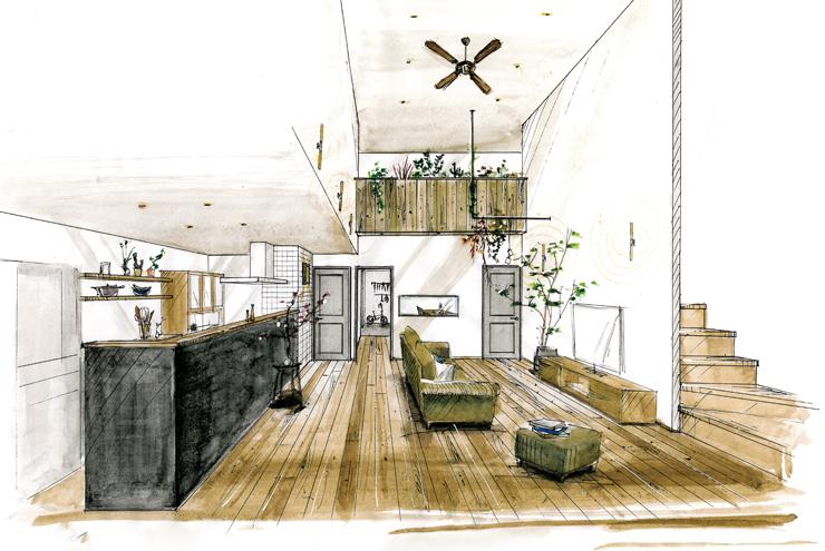 松が丘の家「家族で成長を楽しむ家。」